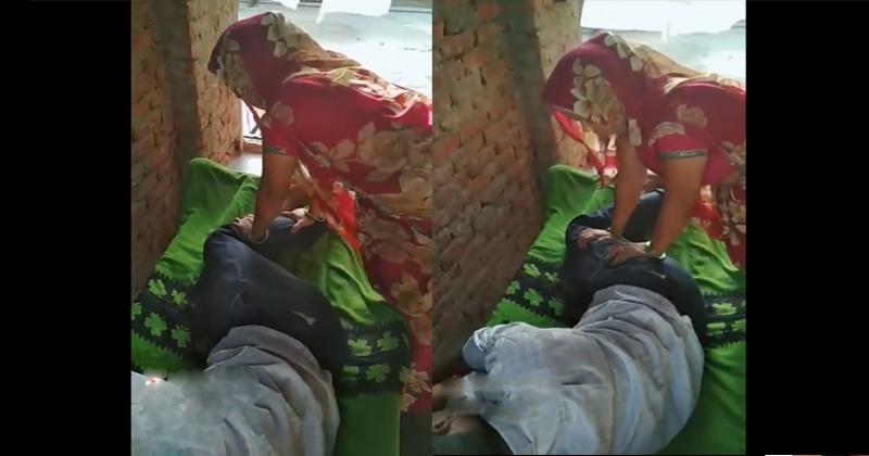 Photo of पत्नी ने पति के पैर दबाते दबाते किया ऐसा काम की सोशल मीडिया पर मची सनसनी, वीडियो हो रहा वायरल