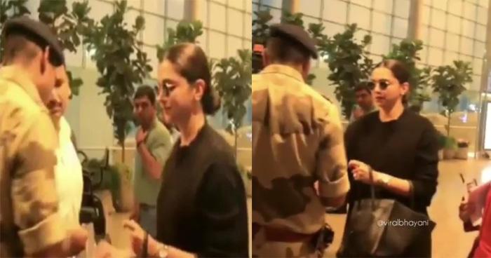 Video: एयरपोर्ट पर सिक्योरिटी गार्ड ने दीपिका मांगी से ये चीज़, तो पादुकोण ने दिया ऐसा जवाब