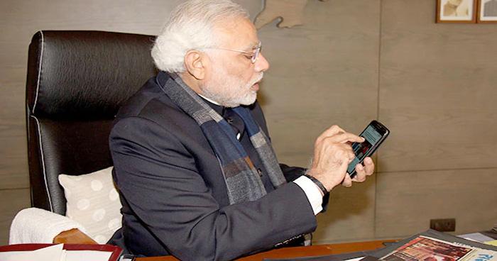 इस स्मार्टफोन का इस्तेमाल करते हैं पीएम नरेंद्र मोदी