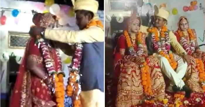 Photo of बीवी की मौजूदगी में पति ने रचाई साली से शादी, जाने कैसे राज़ी हुई पत्नी