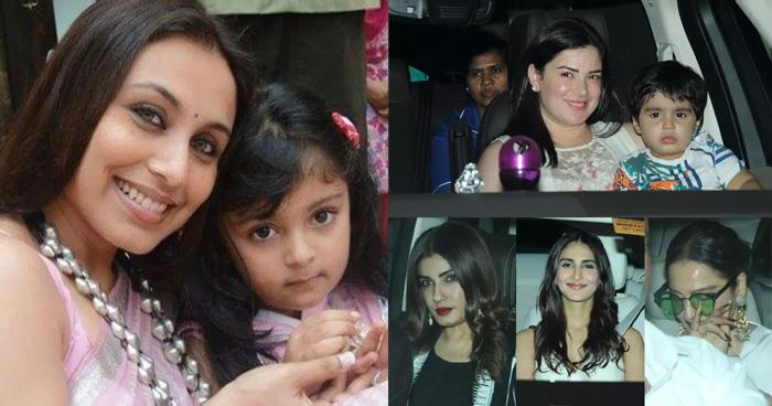 Pics: धूम धाम से मनाया रानी मुखर्जी ने बेटी आदिरा का जन्मदिन, रेखा-रवीना के अलावा पहुंचे ये सितारे