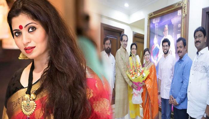 Photo of प्यार के लिए इन्होंने बदल दिया अपना इस्लाम धर्म, अब शिवसेना में है ये सबसे खूबसूरत महिला नेता