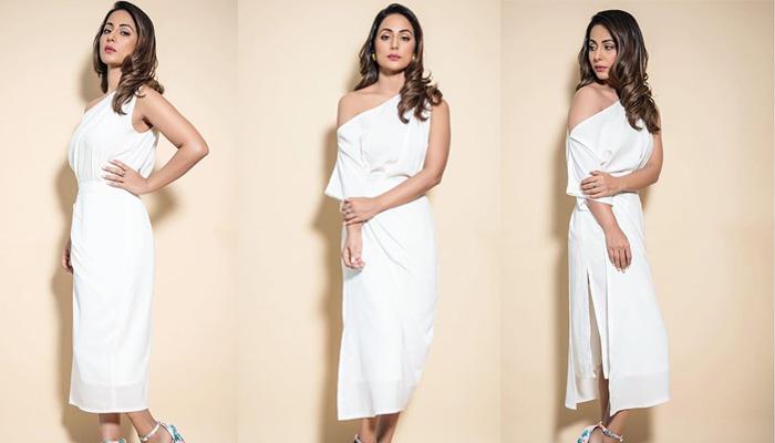 व्हाइट ड्रेस में हिना खान ने ढाया कहर, तस्वीरें देख फैंस हुए बेकाबू