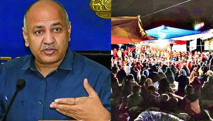 AAP लीडर सिसोदिया बोले 'मैं शाहीन बाग के मुसलमानों के साथ खड़ा हूँ' लेकिन हिंदुओं के साथ कौन खड़ा हैं?