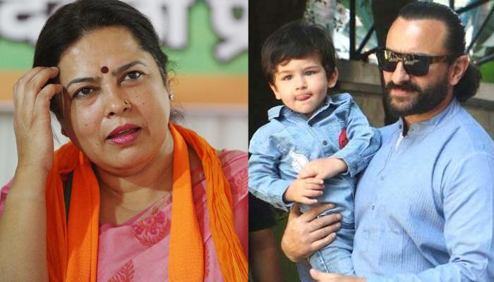 बीजेपी नेता ने सैफ अली खान को दिखाया आइना, कहा- 'तैमूर से तो पूरी दुनिया...'
