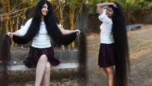 17 साल की इस लड़की के बाल हैं दुनियां में सबसे लंबे, जाने 6 फीट 3 इंच लंबे बालों का राज